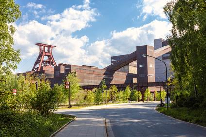 Gelände Zeche Zollverein Essen