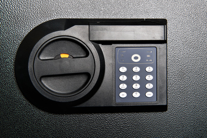 Tresor mit Zahlencode